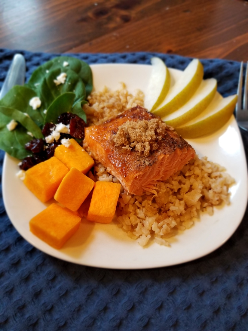 Sweet and Savory Salmon