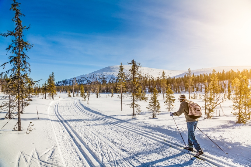 Burn up to 1,000 calories every hour with this easy to learn wintersport
